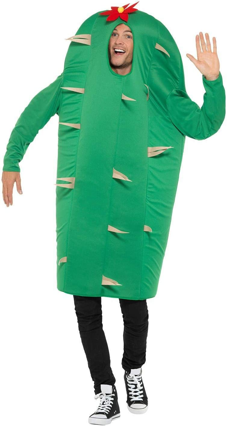Smiffys Costume Disfraz de cactus, color verde, talla única (47215 ...