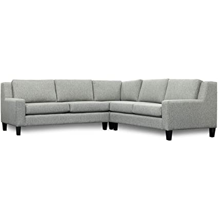 Amazon.com: SoCal Sofa Factory Traditional Corner Sectional ...