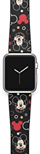 Watch Band Compatible with Apple iWatch All Series 38mm 40mm 42mm 44mm Cartoon Design Strap (mickm3) (38/40mm)