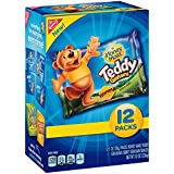 Teddy Graham Crackers Bags, Honey, 12 Count