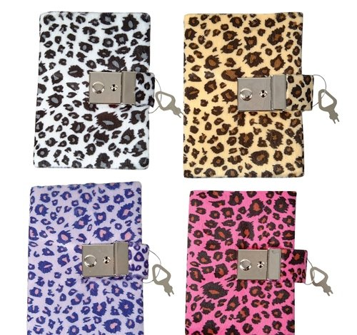 ANIMAL PRINT DIARY, Case of 72 by DollarItemDirect