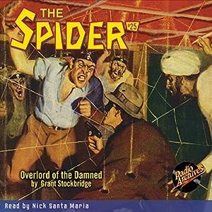 Spider #25, October 1935 (The Spider) Audiobook