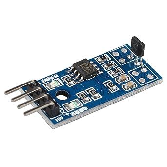 haljia Hall Sensor módulo de velocidad del motor 3144E solo circuito abierto campo magnético medición para