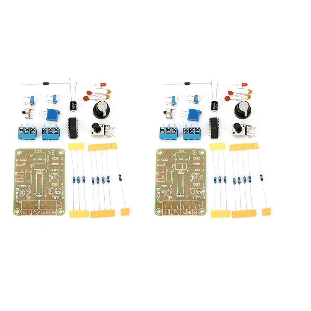 HiLetgo 2pcs ICL8038 Monolithic Function Signal Generator Module DIY Kit Sine Square Triangle