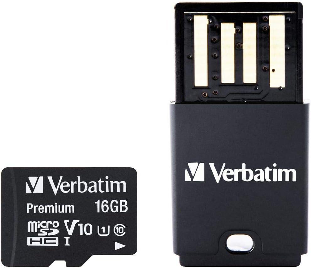 Sd Microsd Card 16gb Verbatim Sdhc Tablet U 1 Cr Computers Accessories