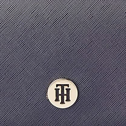 Tommy Hilfiger Damen Honey Belt Bag Cb Umhängetasche, Blau (Tommy Navy Mix), 11.1x17.2x6cm 4