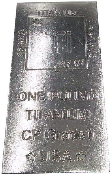 2 99.9/% PURE FINE TITANIUM BULLION ROD  .999 pure OUNCE TITANIUM CYLINDER
