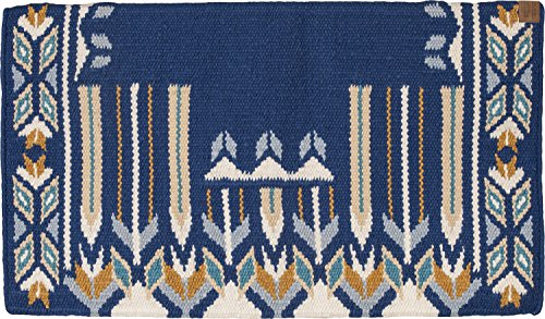 Southwestern Equine American Heritage - Hand Made Show Blankets by (Peacock/Clearwater) (Navy Horse Blanket Blue)