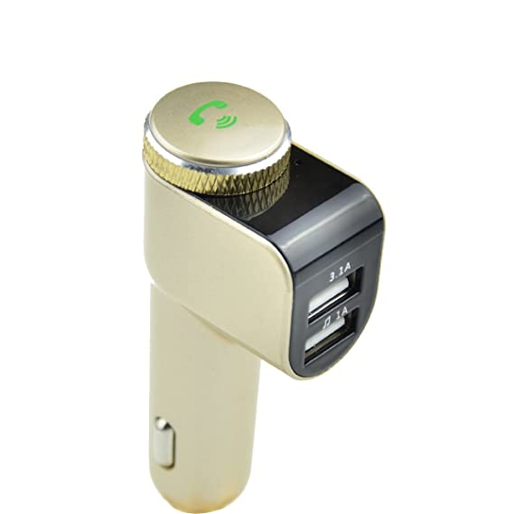 Amazon Com Ips Bluetooth Location Fast Charger Fm Transmitter