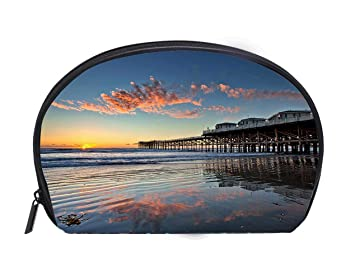 Exceptionnel Amazon.com : Multi Function/Half Moon Cosmetic Bag Sunset At ...