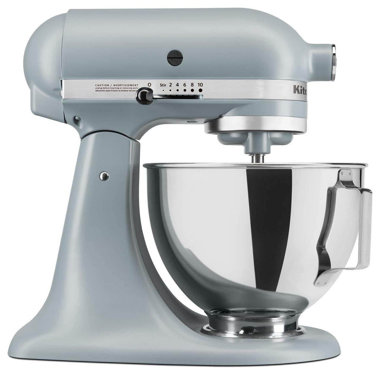 KitchenAid RRK150MF Artisan Series 5-Qt. Stand Mixer - Matte Fog Blue (Renewed) ï¾...