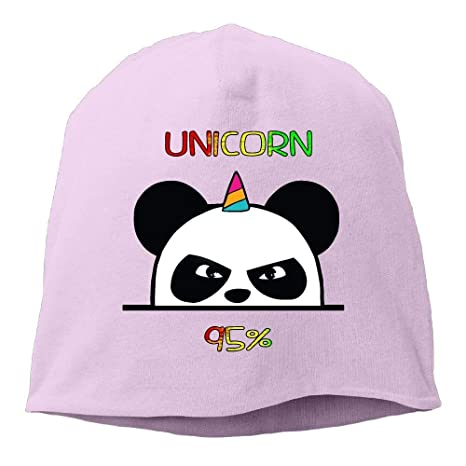 Amazon.com : UMarsDeal Unicorn Ninja Panda Unisex Knit Hat ...
