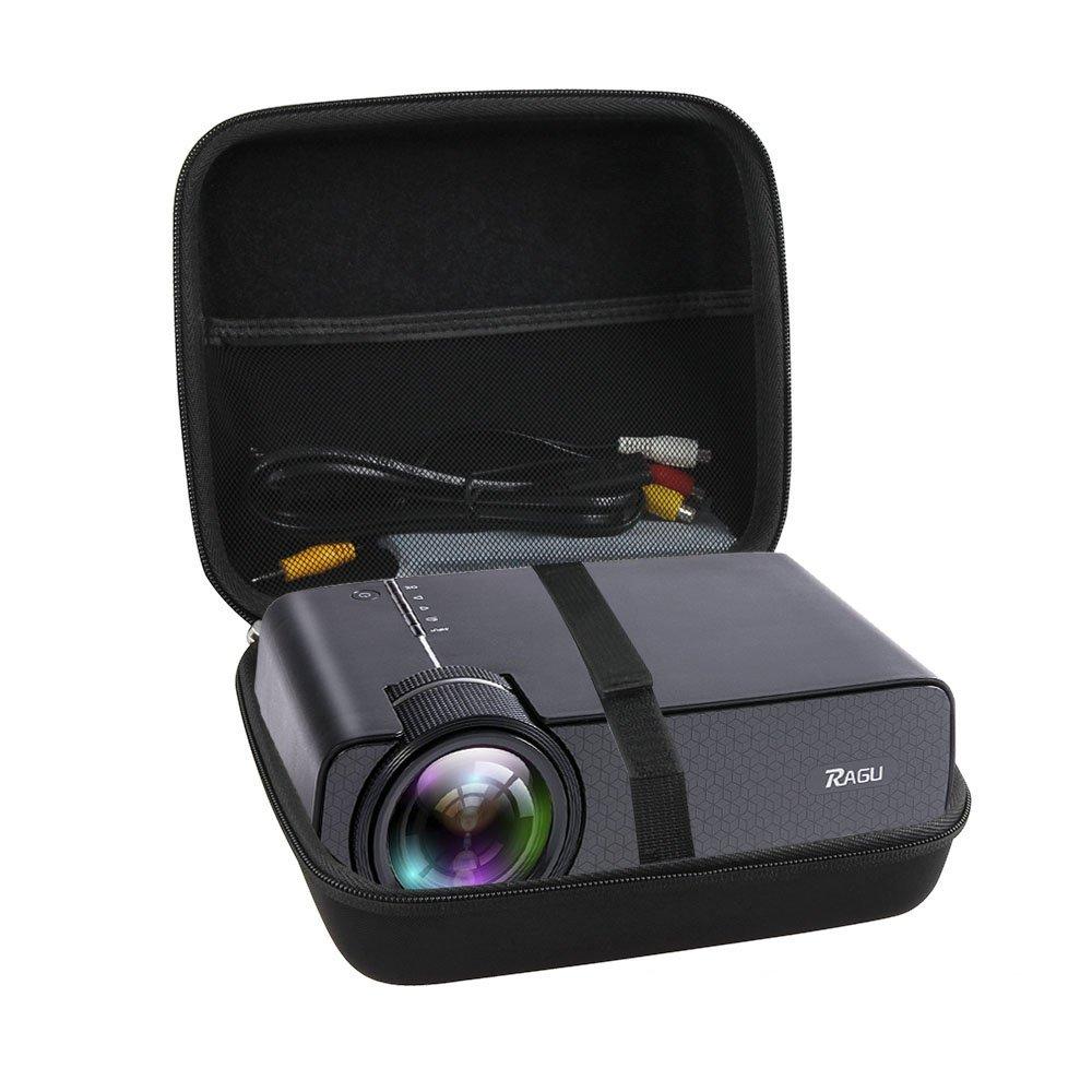 Hermitshell Hard Travel Case Fits Ragu Z400 1600 Lumens Mini Portable Projector by Hermitshell