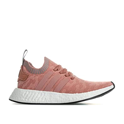 adidas Originals Baskets NMD_ R2 Primeknit Rose Femme ...