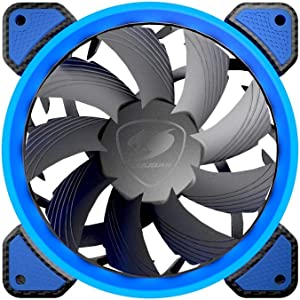 COUGAR Hydraulic Vortex LED 120 mm Cooling Fan (FB 120 Blue)