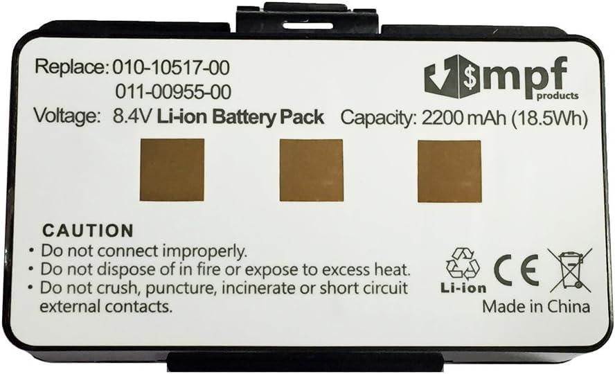 Battery for Garmin 010-10517-00 011-00955-00 010-10517-01 GPSMAP 396 GPSMAP 496