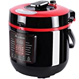Aobosi Electric Multi-Cooker, 6L, 8-in-1 Electric Pressure Cooker, Rice Cooker, Slow Cooker, Stainless Steel Inner Pot, Recipe book and Extra Sealing Ring