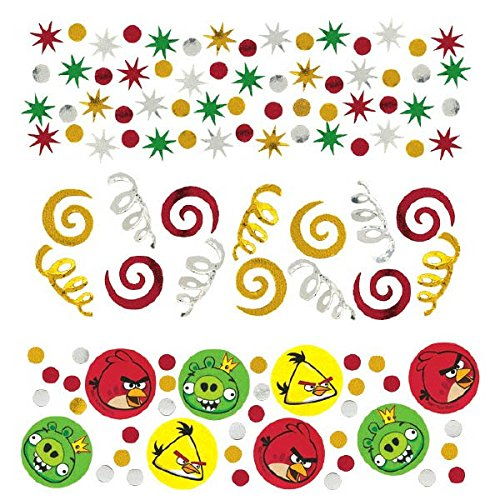 Amscan Fun-Filled Angry Birds Birthday Party Confetti Decoration