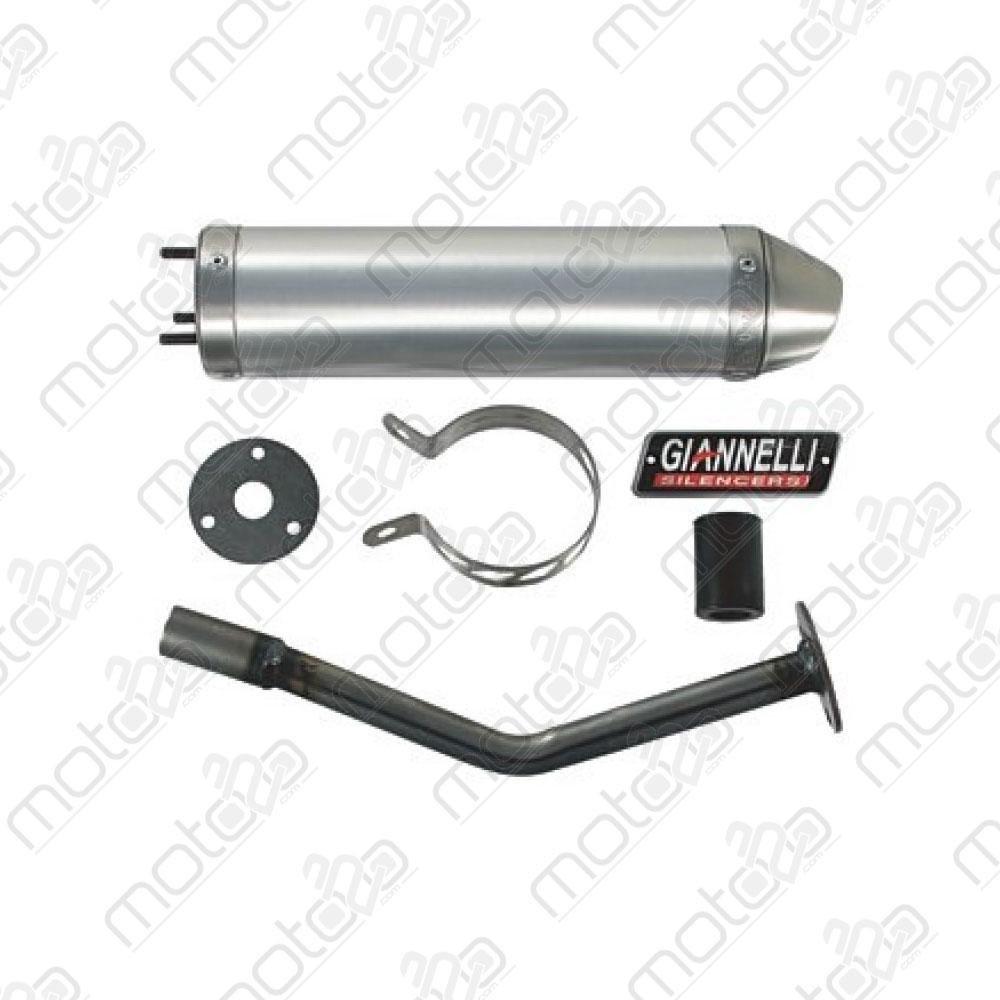Silenziatore Giannelli Enduro 2T alluminio HM CRE 50 Baja/Derapage '03-09 34685HF