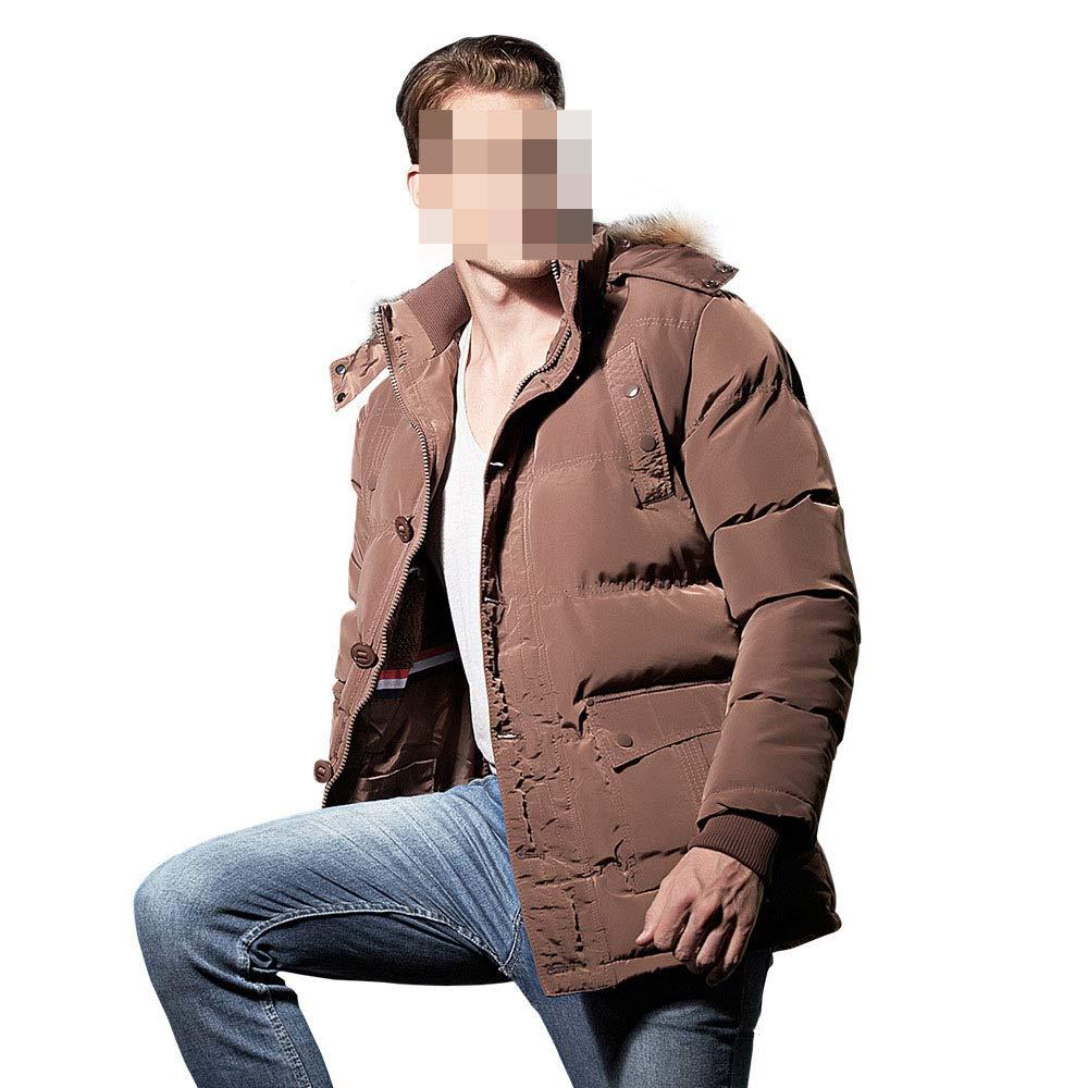 Coffee XXL coffee XXL CLOTHES Thick Men's Cotton Suit, Western Warm Men's Cotton Coat Tide, Winter Coat Men