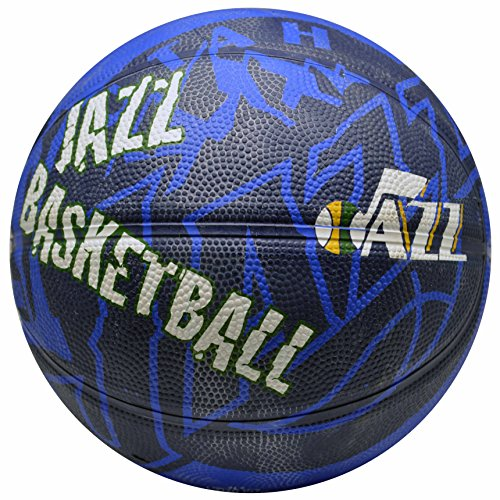 Spalding NBA Utah Jazz Team Colors And Logo Mini Basketball