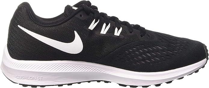 Nike Zoom Winflo 4, Zapatillas de Entrenamiento para Hombre, Negro ...