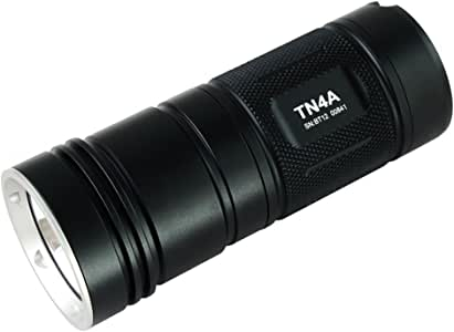 ThruNite TN4A CW 1150 Lumen Single CREE XP-L V6 LED Flashlight Powered by 4 AA Batteries, Cool White