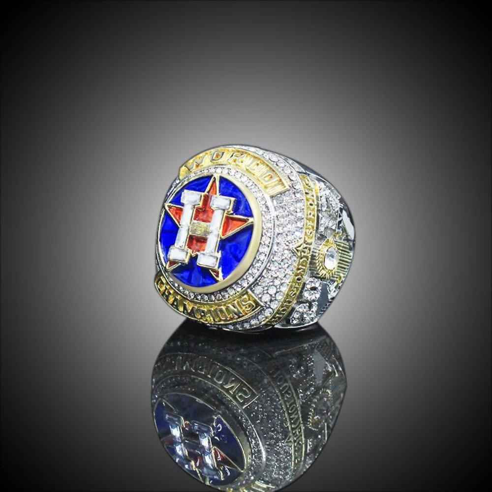 YIYICOOL 2017 Houston Astro's World Series Ring Wooden Box Ring size 10 ALTUVE