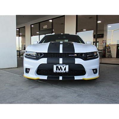 STO N SHO Front License Plate Bracket for 2020-2020 Dodge Charger SRT, Hellcat, Scat Pack Daytona Alternate No Drill Option: Automotive