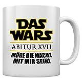 Abi 2017 Geschenk Tasse - DAS WARS MIT MIR Kaffeetasse Tee Tasse Becher 11 Oz. Weiß