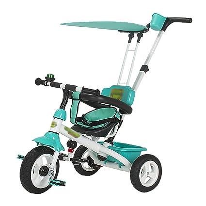 Triciclos- Infantil Bicicleta para bebés Carrito para bebés Bicicleta Preescolar Carruaje para bebés 1-