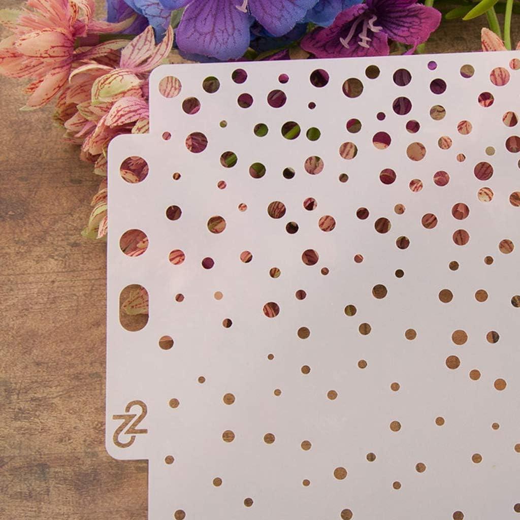 Kalttoy Gabarits Gabarit Peinture Scrapbooking Gaufrage Estampage Album Carte Bricolage Rond