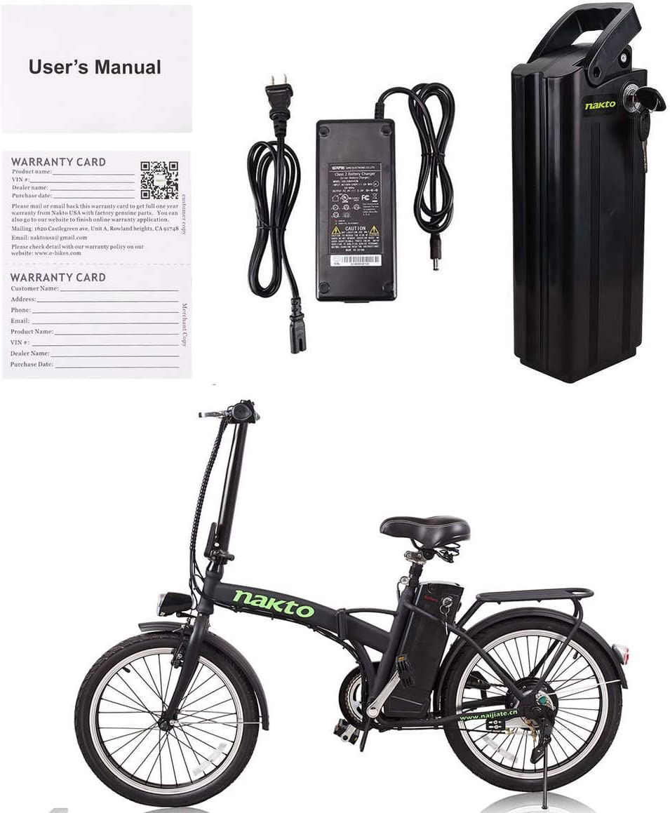 NAKTO/SPARK bicicleta eléctrica de 26 pulgadas para mujeres ...