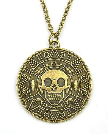 Fluch Der Karibik Halskette Mit Azteken Münze Anhänger Smartkey