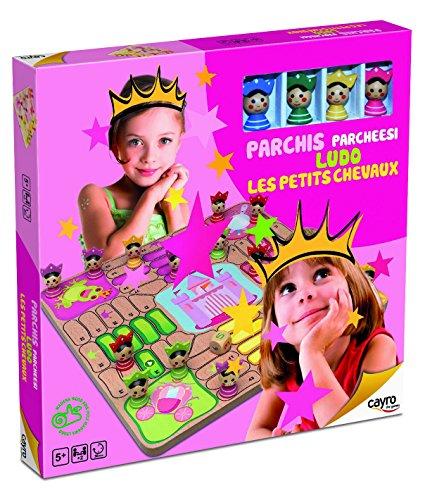 Cayro - 841 - Jeu De Plateau - Jeu Des Petits Chevaux - Princesses