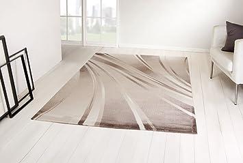 Kurzflor Teppich 160x230 ~ Moderner designer teppich parma kurzflor abstrakt von taracarpet