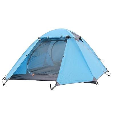 KUWOMINI.Waterproof Tente De Camping Tentes Backpacking,Blue-AllCode