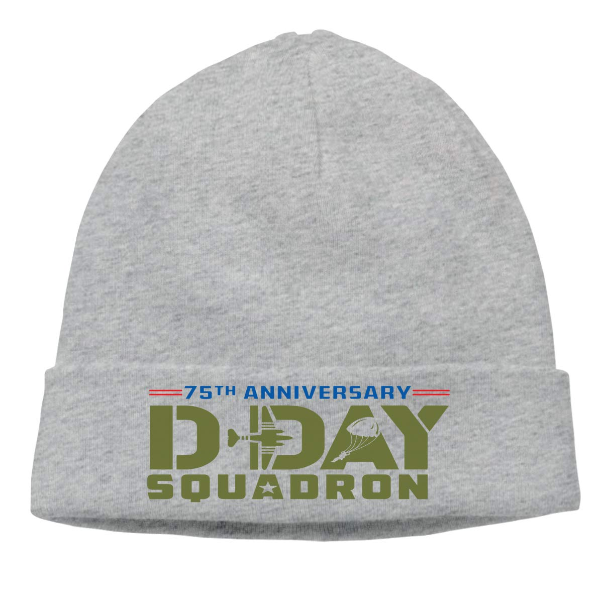 BBlooobow Mens/&Womens The D-Day Squadron Soft Knit Caps