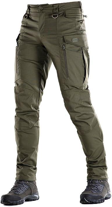 Conquistador Flex Pantalones Tacticos Hombre Con Bolsillos Cargo Verde 28w X 32l Amazon Es Ropa Y Accesorios