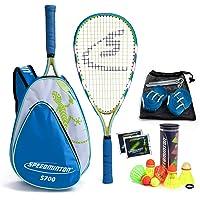 Speedminton® S700 Set - Original Speed Badminton/Crossminton Allround Set incl. 5 Speeder®, speelveld, tas