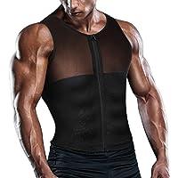2ef017b825 TAILONG Men Shirt Vest Slimming Underwear Body Shaper Tight Tank Top Waist  Trainer Tummy Control Girdle