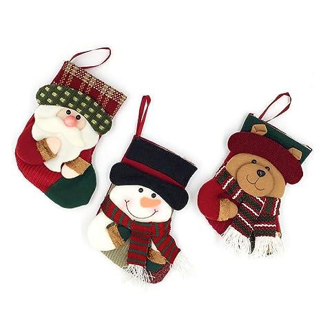 Calcetines de Navidad para regalos, de la marca Yamuda, 3 unidades