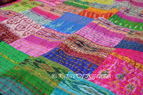 Patola Kantha Blanket Bedspread Rallies product image