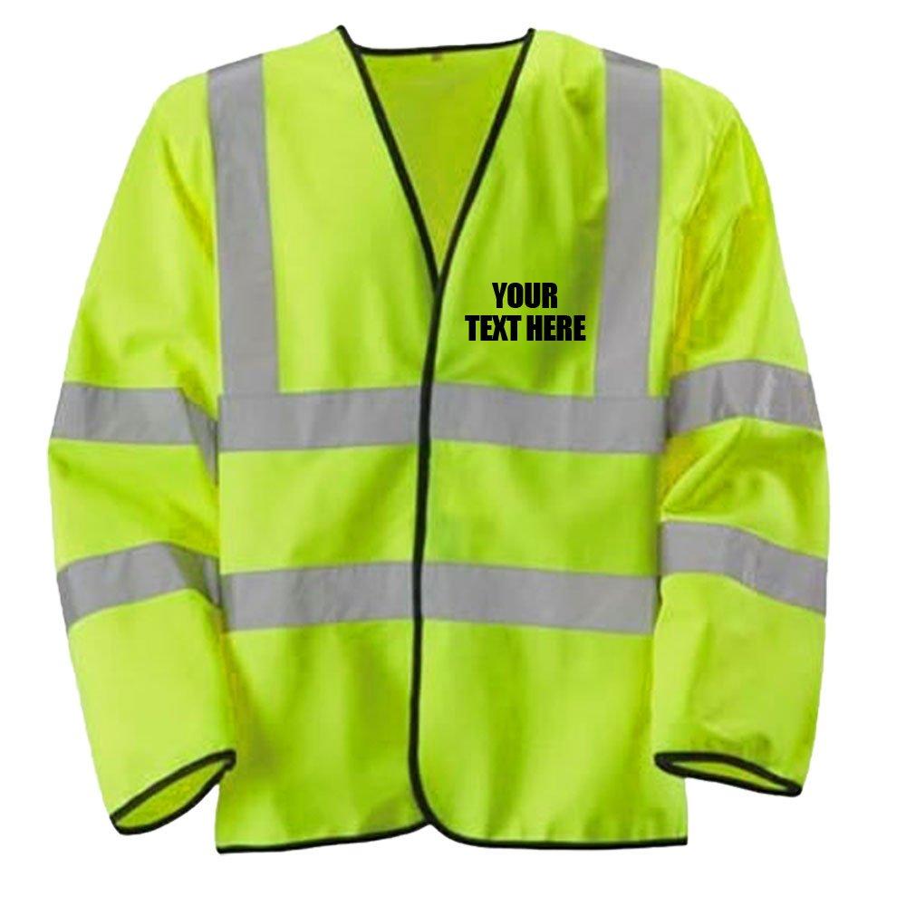 High Visibility Hi Vis Viz Lightweight Jacket Safety Coat