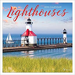 2019 Lighthouses Wall Calendar: TF Publishing: 9781683755562: Amazon