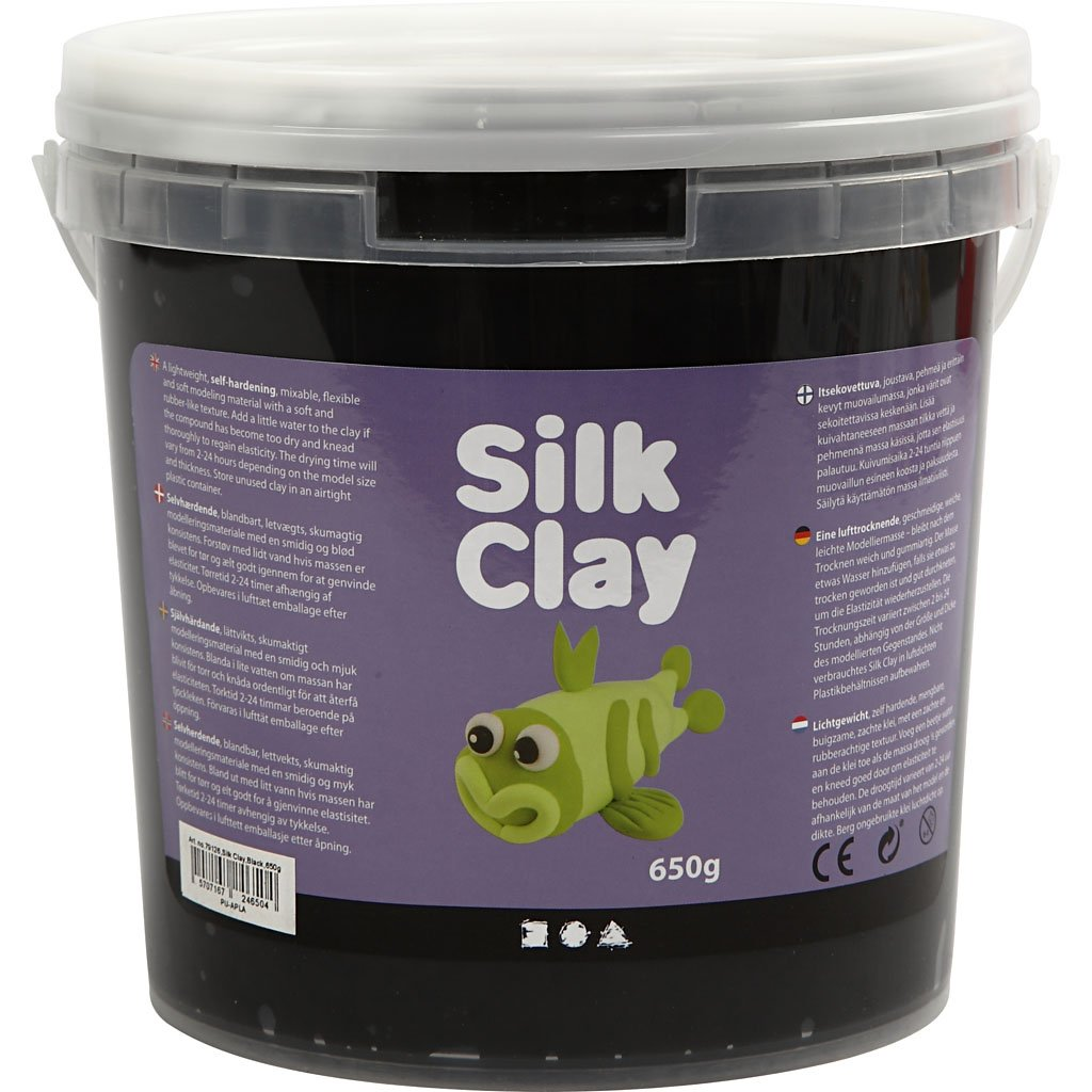 Silk Clay®, schwarz, 650g Silk Clay®