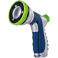 Green Mount Lawn Garden Hose Nozzle with High Pressure for Watering Plants