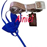 Ainiel Unisex Anime Cosplay Leather Belt + Headwear Accessory