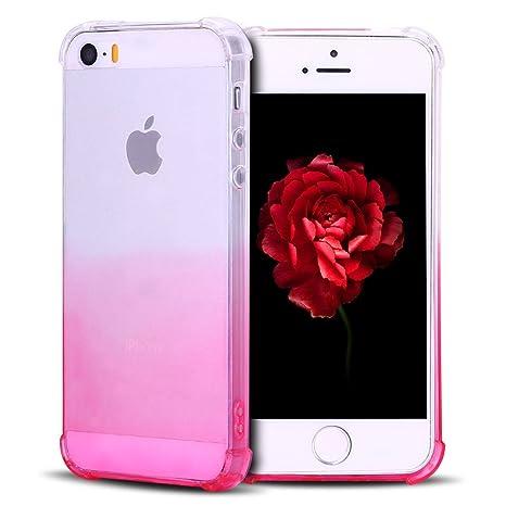 SpiritSun Funda iPhone 5 / 5S Carcasa Case de Suave Silicona ...