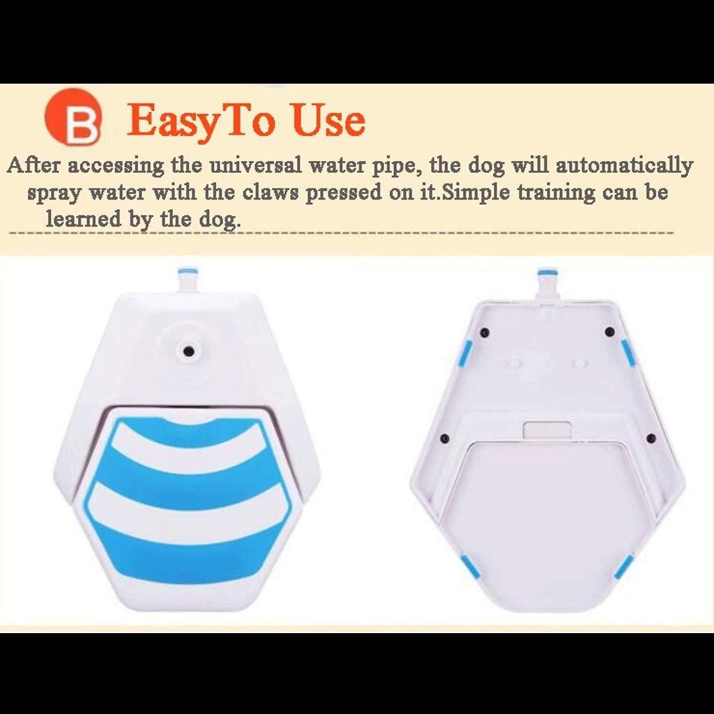 Mascotas Fuente de agua Pedal de presión del Animal doméstico ...